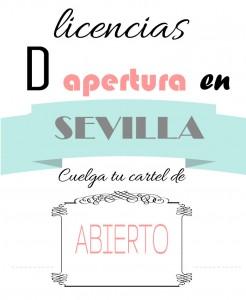 licencias de apertura en Sevilla